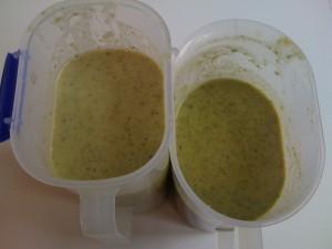 Broccoli, Potato and Silverbeet Soup