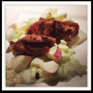 Kids Say Yum Waldorf Salad with Chicken