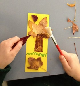 Autumn Leaf Bookmark