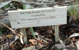 Lizard Lounge Signage