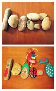 pet rocks can be decorated with a range of different materials