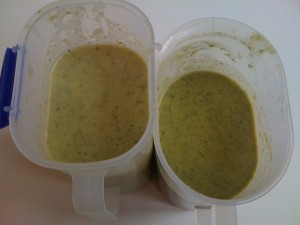 Broccoli, Potato and Silverbeet Soup