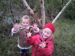 Lehmanns Mallee trees are great for kids.