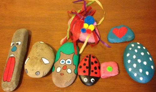 Winter boredom busters indoor gardening activities for kids making pet rocks workwithnaturefo