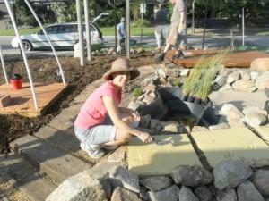 Hillarys Early Years Centre garden volunteer