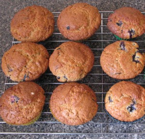 An easy blueberry muffin recipe the kids can help make