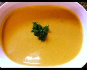 A super easy delicious pumpkin soup